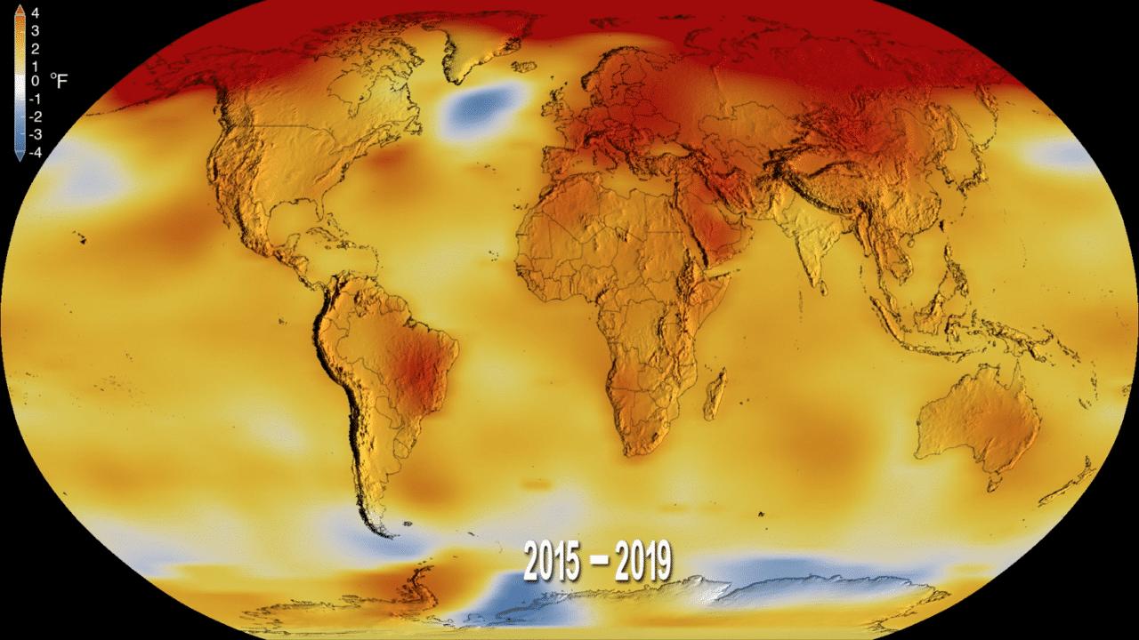 Nasa eindrapport 2019: tweede warmste jaar ooit gemeten