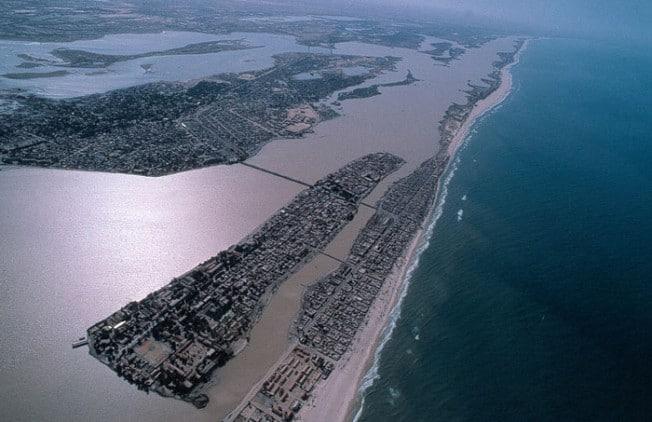 Het Venetie van Afrika staat op punt verloren te gaan