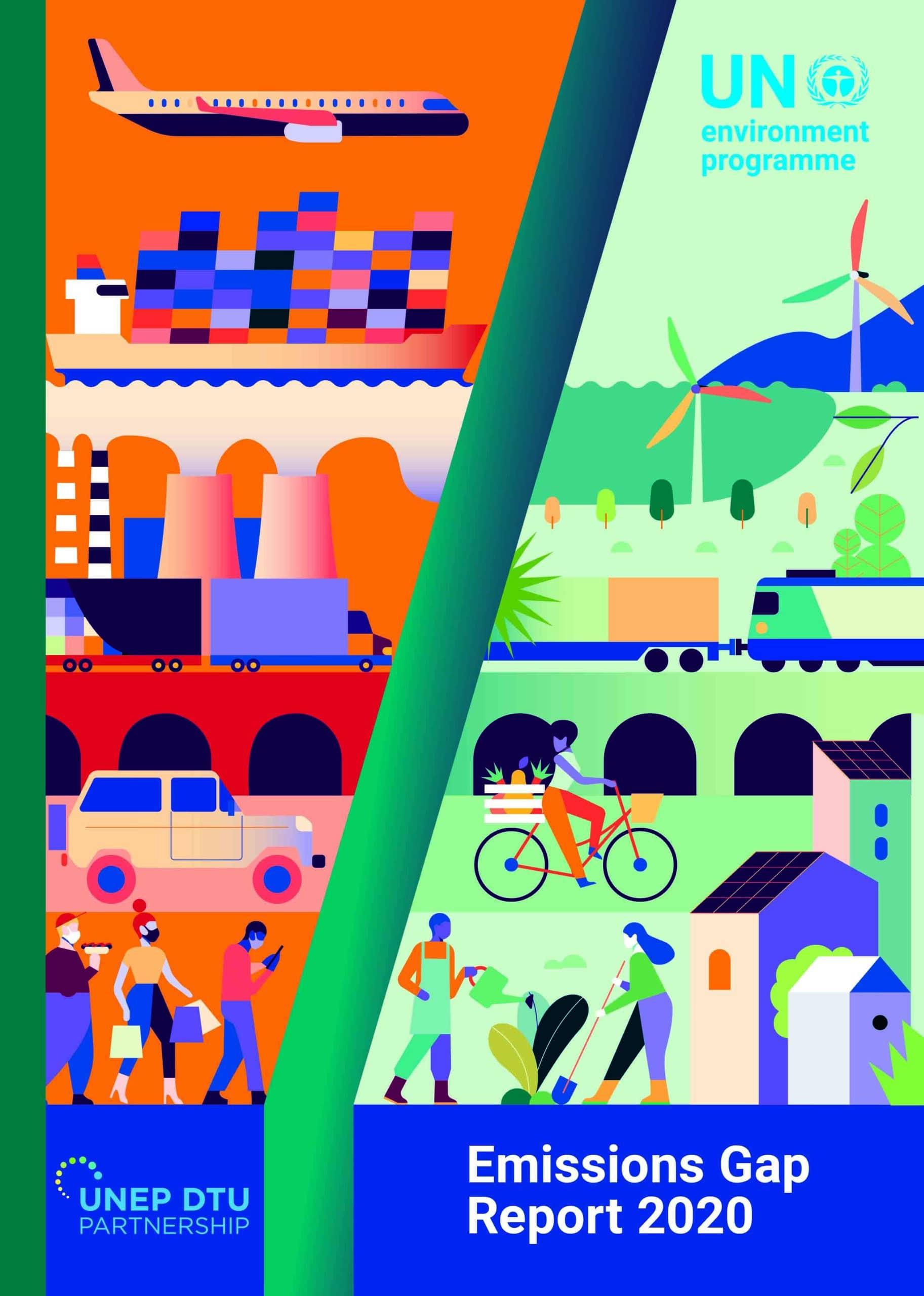 Hoe staat het ervoor met de CO2 emissies anno 2020? Een UN rapport.
